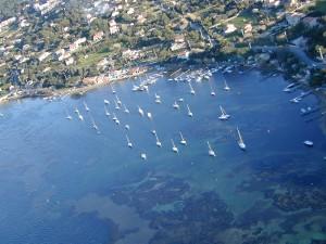 Le Port des Barques - Vue Nord-Est